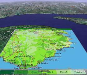 Gaspe Canada Map.Canada Land Inventory Ecoinformatics International